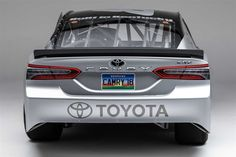 This Is Toyota S New 2018 Camry Monster Energy Nascar Cup Car Complete With Sporty Xse Trim Level Badges And The Insectoid Face Based On That Of