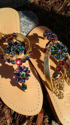 Gorgeous Jeweled Shoes Pasha