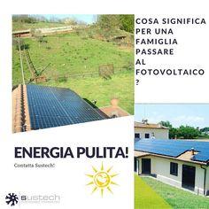 Cosa significa per una famiglia scegliere Sustech Premier partner di #SunPower?  Vuol dire trasformare casa tua in sistema intelligente di produzione di energia rinnovabile proveniente dalla #natura  Energia veramente pulita risparmio ed efficienza garantita!     #linkinbio #energiasolar #fotovoltaico #energiaalternativa #energialimpa #energia #cleanenergy #energiafotovoltaica #green #nature #greenday #love #sunenergy #motivacion #future #futurehome #futurehouse #italy  #bolletta #wood…