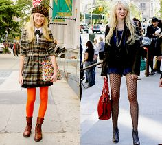 jenny humphrey style evolution cute and girly to awesome bitchen!!!!!