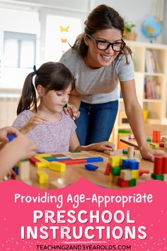 Read about how to provide age-appropriate activity instructions to preschoolers effectively, including tips and activity examples.#instructions #activities #toddlers #preschoolers #teachers #parents #earlychildhood #education #activities #2yearolds #3yearolds #teaching2and3yearolds Play Based Learning, Learning Centers, Kids Learning, Classroom Pictures, Animal Activities, Preschool Activities, State School, Instructional Strategies, Classroom Supplies