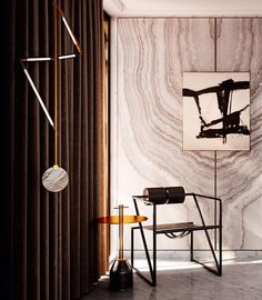 Mix of contemporary and postmodern design: Bec Brittain´s Helix-hanging lamp in brass and marble (2015) with Mario Botta´s Seconda-chair for Alias, Italy (1982). / Haute Savage #mariobotta #seconda #chair #lightingdesign #furniture #postmodern #furnituredesign #becbrittain #helix #interior #interiordesign #marble #brass #art #modernart #abstractart #scandinaviancollectors #contemporarydesign #lamp #decoration