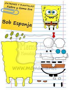 Ya hace tiempo que hicimos a Bob Esponja. Lo volvemos a colgar porque nos lo pedís en nuestro formulario en la web, en la sección CONTACTA.