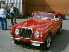 1952 MG TD Aigle Ghia , i know this aint a racer , but it should have been .