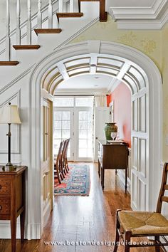 Loved the curved archway detail. Brookes and Hill Custom Builders : Expanded Family Estate Custom Builders, Better Homes, Traditional House, Architecture Details, Decoration, Custom Homes, Interior Decorating, Interior Design, House Plans