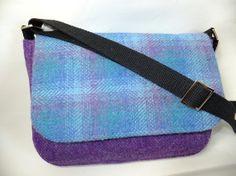 Harris Tweed Custom Order Rounded Flap Bag