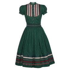 Wally Kleid Schwarzbeer - Dresses - New In - Lena Hoschek Online Shop African Fashion Traditional, African Traditional Wedding Dress, Traditional Dresses, African Fashion Dresses, African Attire, African Dress, Vintage Inspired Fashion, Modern Fashion, Shops