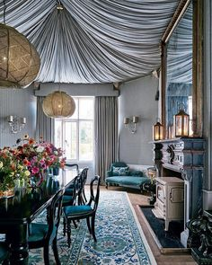Our Iznik Garden Rug In A Project By Interior Designer @henrifitz   As  Featured In