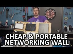 Keep Your Networking Gear Organized With a Wall-Mounted Velcro Board