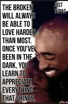 Tupac knew all