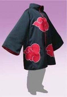 Naruto: Free Japanese Cosplay Costume Sewing Pattern! You can learn to sew Japanese patterns at www.japanesesewingpatterns.com