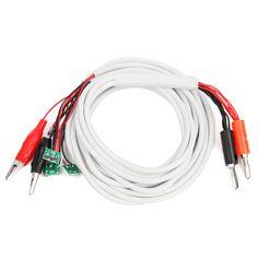 Profesional 6 en 1 Reparación del Teléfono DC Fuente de Alimentación Cable de Prueba de Corriente para iPone