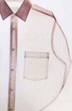 maison martin margiela·soft·pink·transparent·m Look Fashion, Fashion Details, Fashion Design, Mode Inspiration, Design Inspiration, Lingerie Look, Mode Outfits, Mode Style, Fashion Photography