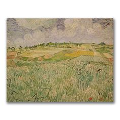 @Overstock - Artist: Vincent van Gogh  Title: The Plains of Auvers  Product Type: Gallery-wrapped canvas arthttp://www.overstock.com/Home-Garden/Vincent-Van-GoghThe-Plains-of-Auvers-Canvas-Art/7668474/product.html?CID=214117 $53.99