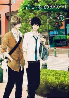koimonogatari tagura tohru! - this manga go slow to the love. But i still really like it!