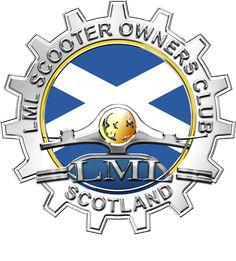 Lml Vespa, Cogs, Scooters, Badges, Scotland, Vespas, Stickers, Badge, Mopeds