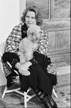 Princess Grace with her dog, Sunday