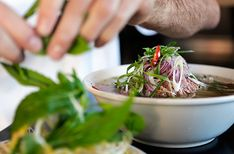 Here are our tips for Perth's most un-pho-gettable pho. Green Papaya Salad, Rice Paper Rolls, Best Dishes, The Dish, Pho, Perth, Spinach, Australia, Hot Spots