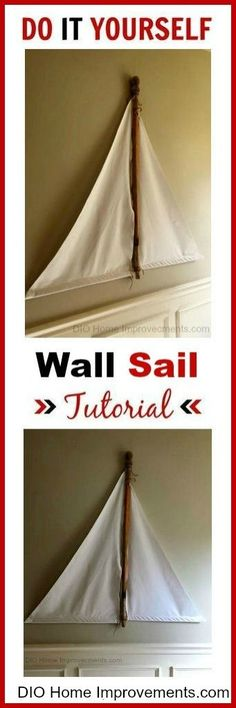 DIY Wall Sail Tutorial