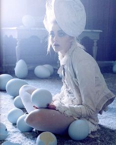"1,178 Likes, 5 Comments - Lisa McConniffe 爱 (@lisamcconniffe) on Instagram: ""Eggs & Fairytales // by Tim Walker  #editorial #timwalker #art #contemporaryart #model #style…"""