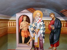 Saint Anthony Church, Nashville Tennessee, Art And Architecture, Fresco, Ministry, Style Icons, Religion, Scene, Creative