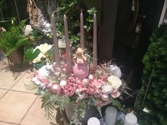 Advent, Floral Wreath, Wreaths, Home Decor, Floral Crown, Decoration Home, Door Wreaths, Room Decor, Deco Mesh Wreaths