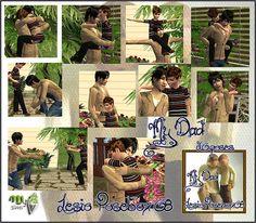 MYB Sims: Posebox 08 My Dad by Lesio