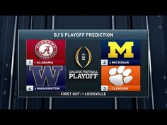 Inside College Football: Week 10 Playoff Predictions