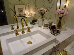 Class Up That Bath! Chic and affordable solutions to update your tired bathroom!