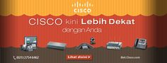 Cisco Indonesia solusi kebutuhan IT perusahaan anda mulai dari switch, router, security, wireless, unified communication serta aksesoris IT lainnya. http://beli.cisco.com