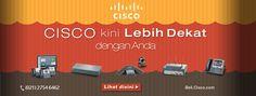 Cisco Indonesia solusi kebutuhan IT perusahaan anda mulai dari switch, router, security, wireless, unified communication serta aksesoris IT lainnya. http://beli.cisco.com