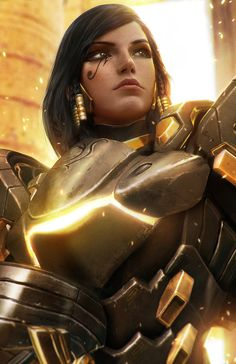 Overwatch - Pharah Artwork