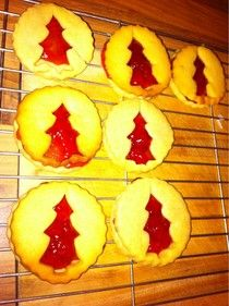 Victoria Plum's Homegrown Blog: Christmas Dodger Biscuits