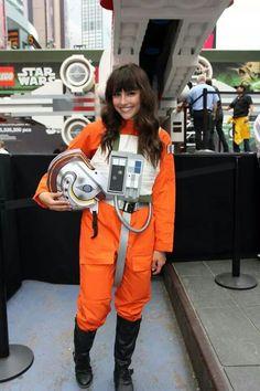 Star Wars cosplay / X-Wing pilot