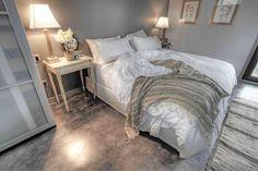Rough Linen Orkney white bedskirt (plus Rough Linen sheets, pillow slips, shams, etc.)