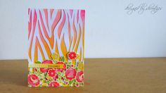 Floral handmade Cards