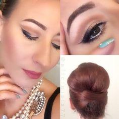 Alicia Ventimiglia  Instagram @aliciaisis77 | Makeup Artist | Cutcrease  #makeup #hair #nails #breakfastattiffanys