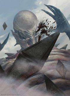 Titan's Presence, Slawomir Maniak on ArtStation at https://www.artstation.com/artwork/titan-s-presence
