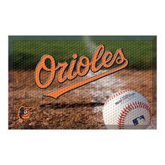 Baltimore Orioles MLB Scraper Doormat (19x30)
