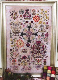 Summer Quaker - Cross Stitch Pattern