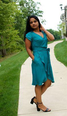New Sewing Pattern: Petaluma Faux Wrap Dress - - New Sewing Pattern: Petaluma Faux Wrap Dress – Itch To Stitch Source by gmcmarr Wrap Dress Floral, Faux Wrap Dress, Dress Sewing Patterns, Clothing Patterns, Apron Patterns, 15 Dresses, Dresses For Work, Wrap Dresses, Sew Your Own Clothes
