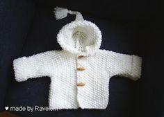 Ravelein : babyjasje en patroon