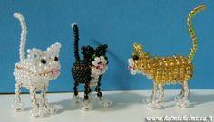 sculpture beaded fish, pattern   Bead Beauty - Bead Animals