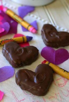 Valentine Peppermint Creme Cookies
