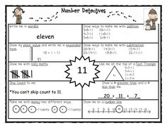 Number Detectives - number of the day