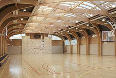 Gymnasium Régis Racine : Atelier d'Architecture Alexandre Dreyssé