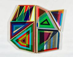 Jeffrey Gibson (Choctaw/Cherokee): Don't Break the Spell on deer hide Native American Artists, Native American Indians, Geometric Artwork, Deer Hide, Color Studies, Indigenous Art, Modern Artists, Art Lessons, Art Inspo