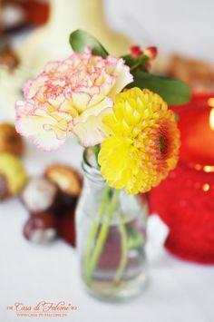 Herbstliche Tischdeko I autumn table deco I Casa di Falcone