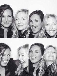 Mariska Hargitay and Kelli Giddish