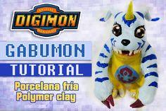 [Cristhian Crafts collab] DIY Digimon Tutorial: Gabumon polymer clay - P...